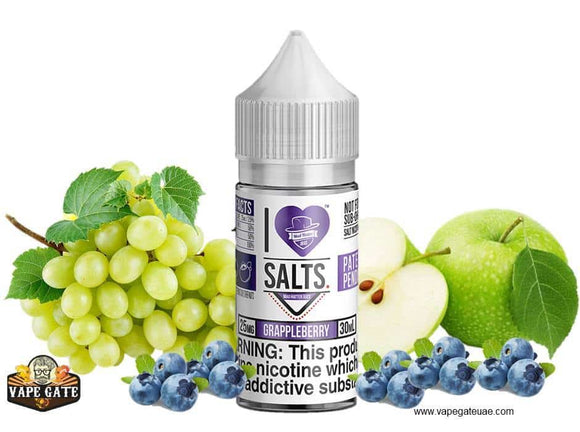 Grappleberry - I Love Salts / Mad Hatter Juice