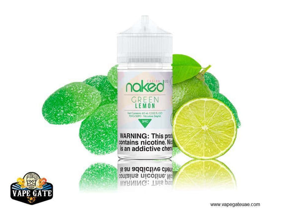 Naked 100 Green Lemon Abu Dhabi, Dubai and UAE