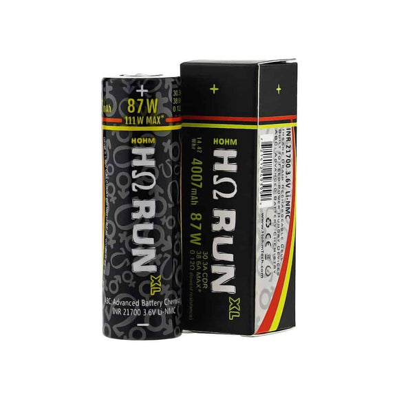 Hohm Tech RUN XL 21700 4007mAh 30.3A Battery