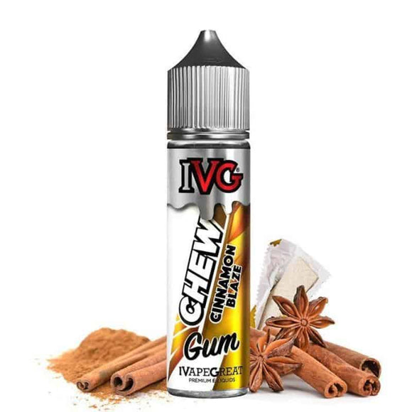 Chew Cinnamon Blaze 60ml E juice by IVG Ruwais Dubai & ABu Dhabi UAE