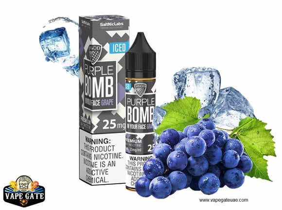 VGOD Iced Purple Bomb Salt Nic in abu dhabi, Dubai and al ain