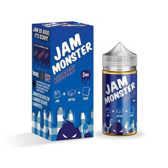 Blueberry  E liquid-  Jam Monster
