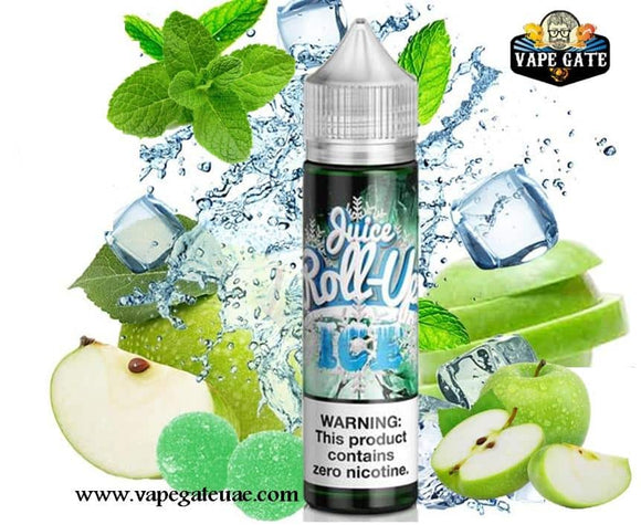 Juice Roll Upz Green Apple Ice Dubai & Ras Al Khaima UAE