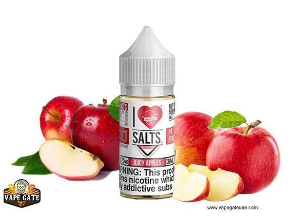Juicy Apples - I Love Salts / Mad Hatter Juice