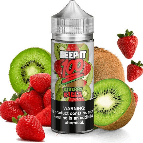 Kiberry Killa 100ml E Liquid by Keep It 100 - E-LIQUIDS - UAE - KSA - Abu Dhabi - Dubai - RAK 1