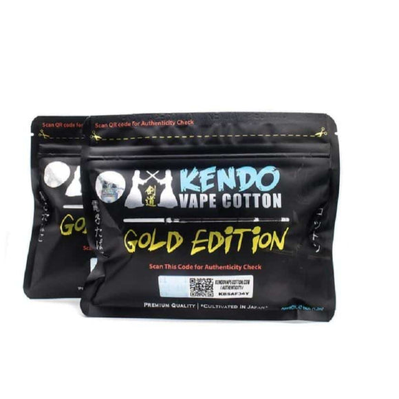 Kendo Vape Cotton Gold Edition Sharjah Ajman Abu Dhabi Dubai