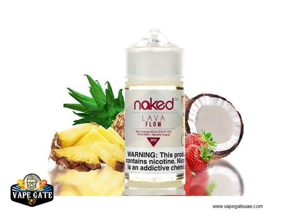 Naked 100 Lava Flow Abu Dhabi, Dubai and UAE