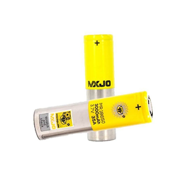 MXJO 18650 BATTERY 3000MAH 35A, rechargeable battery, accessories, batteries dubai abu dhabi, vape gate UAE