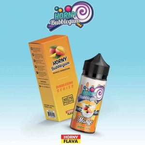 Horny Bubblegum Mango 100ml E Liquid by Horny Flava