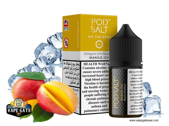 Pod Salt Mango Ice uae