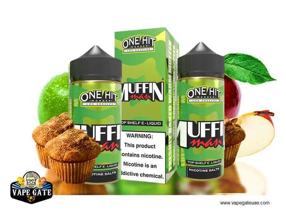 Muffin Man - One Hit Wonder - E-LIQUIDS - UAE - KSA - Abu Dhabi - Dubai - RAK 1