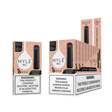 MYLE Mini Strawberry Banana Disposable Device | Abu Dhabi Dubai UAE | KSA Saudi Arabia