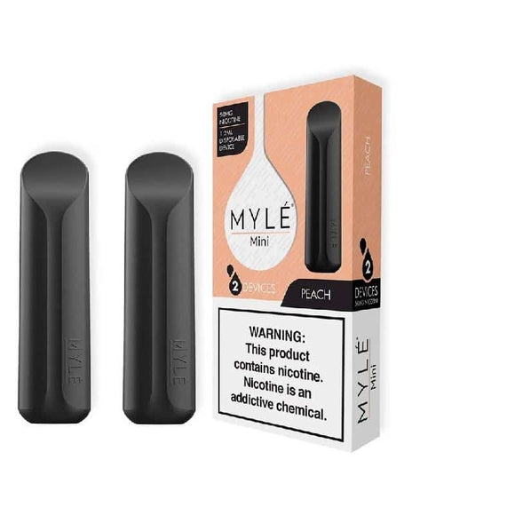 MYLE Mini disposable Peach Disposable Device Abu Dhabi Dubai