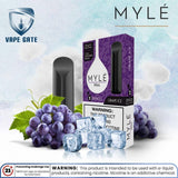 Myle Mini Grape iCE Disposable Pods Abu Dhabi Dubai Al Ain Ajman Fujairah