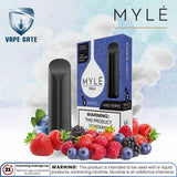 Myle Mini  mixed berries Disposable Pods Abu Dhabi Dubai Al Ain Ajman Fujairah