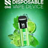 N One Disposable Pod System Vape Device - Mojito - Pods - UAE - KSA - Abu Dhabi - Dubai - RAK 11
