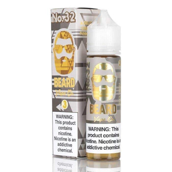 No. 32 60ml E Liquid - Beard Vape Co - E-LIQUIDS - UAE - KSA - Abu Dhabi - Dubai - RAK 1