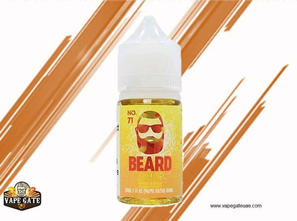 No. 71 Sweet and Sour Sugar Peach - Beard Salts