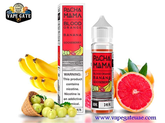 Pachamama Blood Orange Banana Gooseberry E juice by Charlie's Chalk Dust