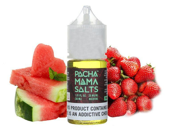 Strawberry Watermelon 30ml Saltnic by Pachamama