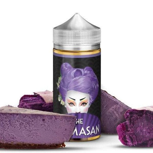 Purple Cheesecake E juice 100 ml - by The Mamasan