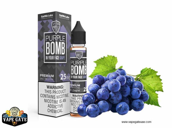VGOD Purple Bomb Salt Nic in abu dhabi, Dubai and al ain