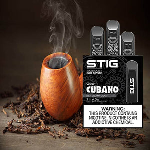 Stig Disposable pod, Cubano by VGOD Pod Dubai UAE, Vape Gate UAE , Stig Pod UAE