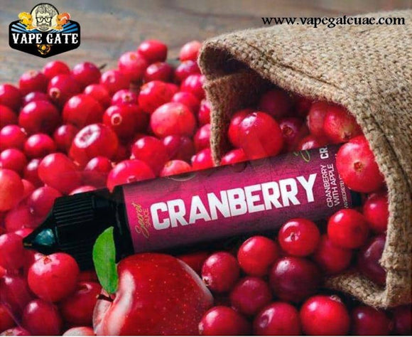 Cranberry 60ml E liquid by Secret Sauce Dubai & Ras Al Khaima UAE