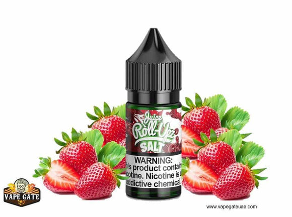 Strawberry - Juice Roll-Upz - Salt Nic - UAE - KSA - Abu Dhabi - Dubai - RAK 1
