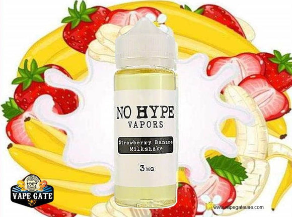 Strawberry Banana Milkshake - No Hype Vapors