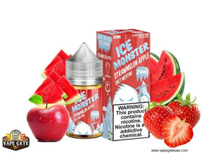 Strawmelon Apple Ice - Jam Monster - Salt Nic - UAE - KSA - Abu Dhabi - Dubai - RAK 1