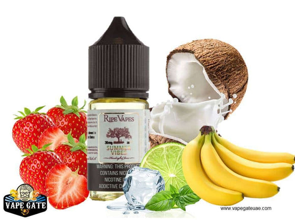 Handcrafted Saltz - Summer Vibes - Ripe Vape In Abu Dhabi, Dubai and UAE