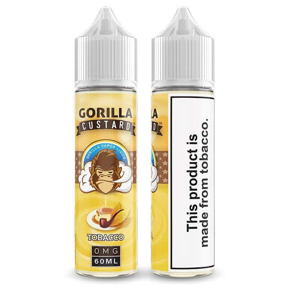 Gorilla Custard Tobacco E Liquid by E&B Flavor