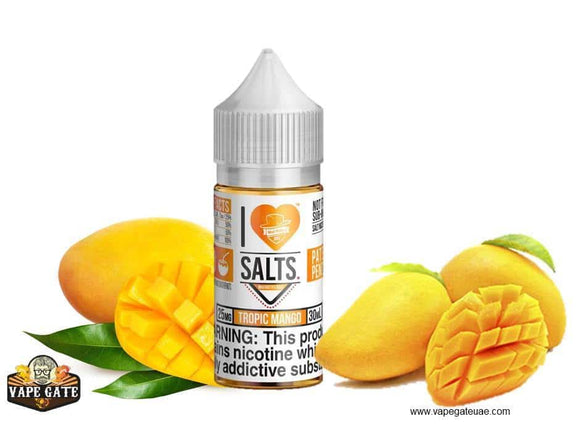 Tropic Mango - I Love Salts / Mad Hatter Juice
