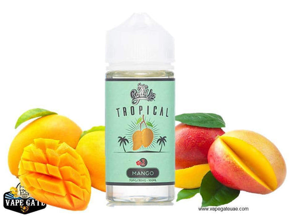 Tropical Mango - Juice Roll Upz - 3 mg / 100 ml - E-LIQUIDS - UAE - KSA - Abu Dhabi - Dubai - RAK 1