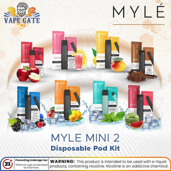Myle Mini 2 Disposable Pod Kit-abu dhabi-dubai-al ain-ras al khaima-uae