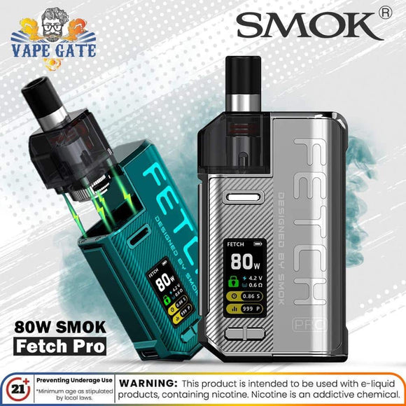 SMOK Fetch PRO 80W UAE, Saudi Arabia Riyadh