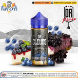 Dr Clouds Blueberry Cheesecake vape ejuice, shop online ejuice abu dhabi, vape gate uae