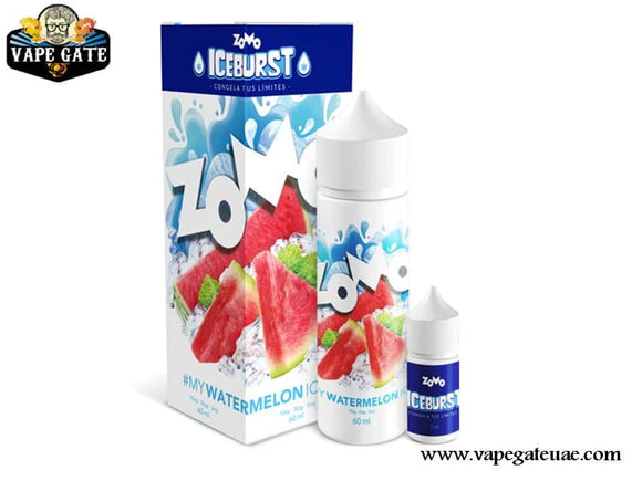 Watermelon Ice 60ml E liquid by Zomo Abu Dhabi & Dubai UAE, Vape Expo 2020