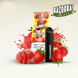 Bazooka Sour Straws Disposable Vape Device - Strawberry - 50mg - Pods - UAE - KSA - Abu Dhabi -