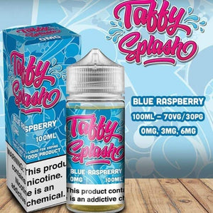 Blue Raspberry Taffy E liquid by Taffy Splash Abu Dhabi & Dubai UAE