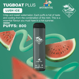 TUGBOAT VAPE DISPOSABLE PODS (800 Puffs)