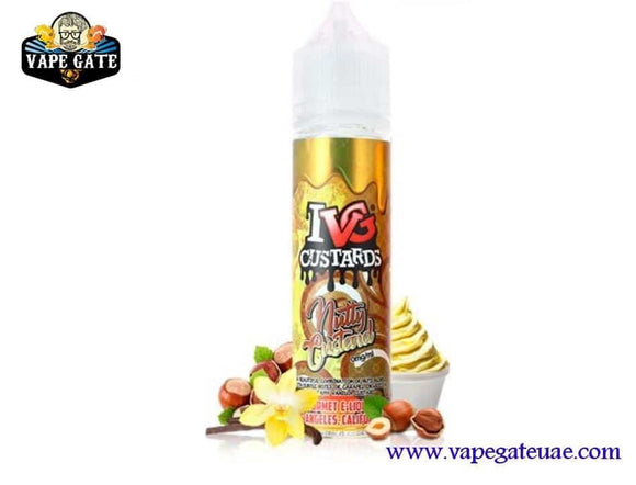 Nutty Custard 60ml E juice by IVG