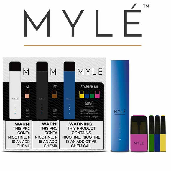 MYLE STARTER KIT V4 (4 PODS INCLUDED) - POD SYSTEMS - UAE - KSA - Abu Dhabi - Dubai - RAK 1