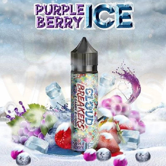 Purple Berry Ice 60ml E Liquid by Cloud Breakers