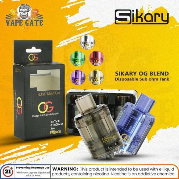 sikary-og-disposable tank-vape tanks-sub ohm tanks-dubai-abu dhabi-uae-sharjah-al ain-saudi arabia-1