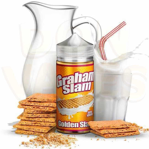 Graham Slam E juice 100 ml - by The Mamasan - E-LIQUIDS - UAE - KSA - Abu Dhabi - Dubai - RAK 1