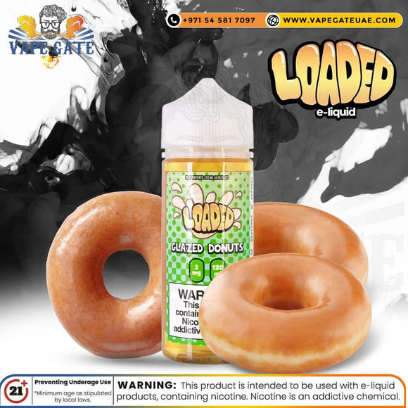 Glazed Donut - Loaded 120ml abu dhabi uae ksa