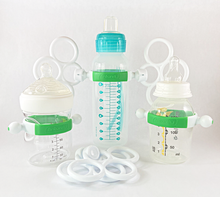 Load image into Gallery viewer, Bottle Grabbies Baby Grasp Toy Display