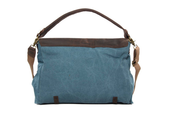 Jan Aquamarine Messenger Bag